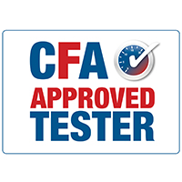 CFA Approved Tester